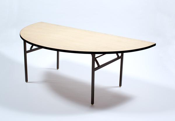 丸テーブル(2000半丸)
