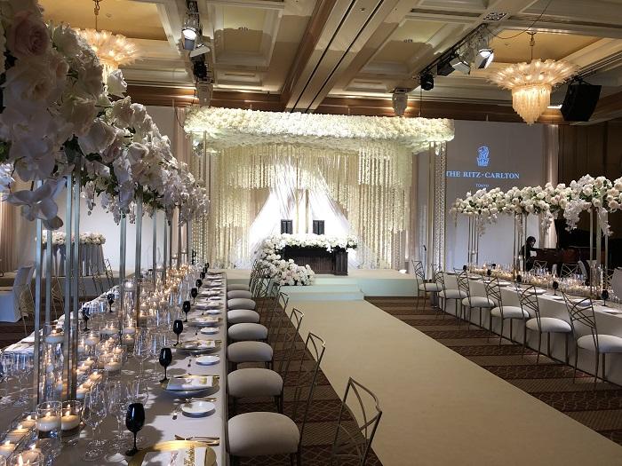 リッツカールトン結婚式